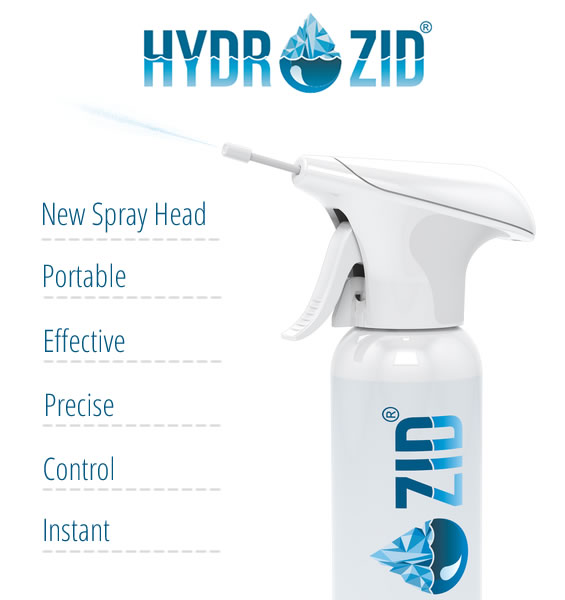 Hydrozid New Spray Head
